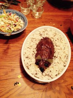 Rat Meatloaf with Wild Rice