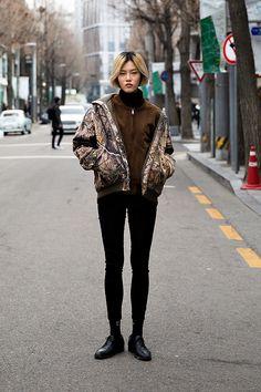 SOCKS | #ADERERROR Kwon Dahye, Street Fashion 2017 in SEOUL