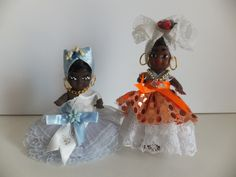 Old Brazillian Doll's - Baianas...