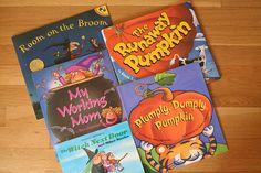 Halloween Books for Young Children http://loveinthesuburbs.com/wordpress/halloween-books-for-young-children