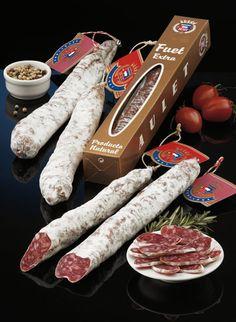 Fuet | Catalan | Spanish sausages | #Cataluña #Catalonia #Calunya