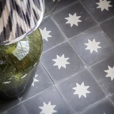 Luna Old Iron Tile is part of Bert & May's handmade cement tile collection. Shop our range of quality tiles in plain or patterned styles, created using natural pigments. Porch Tile, Patio Tiles, Porch Flooring, Outdoor Tiles, Cement Tiles, Bathroom Floor Tiles, Kitchen Tiles, Kitchen Flooring, Hall