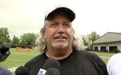 New Orleans Saints DC Rob Ryan speaks with reporters on Tuesday, June 10, 2014.  Rob Ryan is pleased with secondary's depth