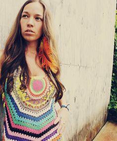 I love this crochet top