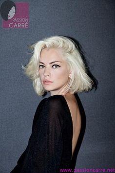 1000 id es sur le th me blond platine sur pinterest blondes cheveux blonds et cheveux - Blond platine femme ...