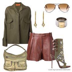Trend militar! Confira sua nova versão em www.carolinedemolin.com.br.   #fashion #moda #looks #lookdodia #lookoftheday #trend #tendencias #personalstylist #personalstylistbh #consultoriademoda #consultoriadeimagem #copernifemme #philliplim #giuseppezanotti #marcjacobs #rayban #tate #saintlaurent    Veja mais em www.carolinedemolin.com.br