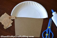 Paper Plate Muffin {Kid Craft}