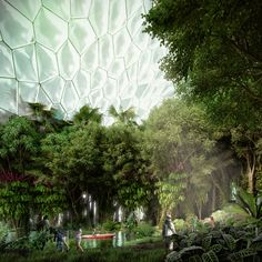 Image 5 of 9 from gallery of Mecanoo Unveils Design for Experimental Garden and Palace Restoration in The Netherlands. © Mecanoo architecten