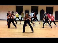 Zumba Dance Fitness Da Dip by Freak Nasty * Her best video for sure. Choreo by Darci Serr  Fun and Easy Leg workout! It is more of a challenge when done towards the end of class too! : )