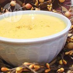Zdjęcie do przepisu: Zupa-krem z dyni