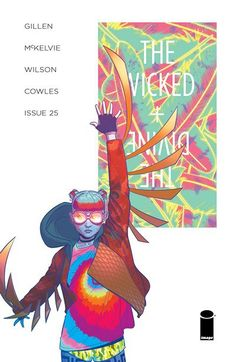 """The Wicked + The Divine n°25 (04.01.2017) // """"IMPERIAL PHASE (I),"""" Part Three. The comic that says, """"What could possibly go wrong?"""" and then looks at the camera and stares until we all start crying releases another issue.  #wicked #divine #image #comics"""