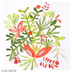 News – Page 2 – julie hamilton Collages, Collage Artists, Moleskine, Botanical Illustration, Illustration Art, Vector Illustrations, Wrapping Paper Design, Embroidery Art, Lovers Art