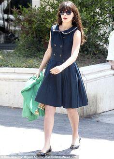 Zooey wearing a gorgeous Dear Creatures dress <3