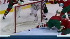 Justin Fontaine saves a goal Video - NHL VideoCenter- 2013