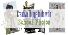 Creative Things to do with School Photos ~  Check out these ideas to make these special photos stand out and also preserve all the previous years' photos. | #Ad