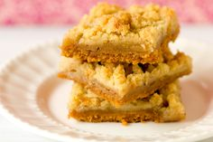 Dutch Apple Pie Bars by Brown Eyed Baker
