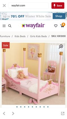 Fun And Stylish Little Girls Bedroom Furniture Design, Princess Toddler  Collection By KidKraft   Californiau0027s Home, Design And Giftsu2026