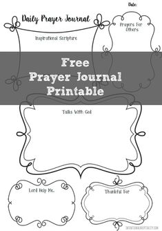 Free Prayer Journal Printable Page | In our fast paced world, it can be difficult to sit down and have a quiet time with your Heavenly Father.  I have found one of the best ways to carve out this time is to include writing my thoughts and prayers to Him as part of my Morning Routine  and I would like to share this free prayer journal printable I created with my readers.   | A5 | Filofax |
