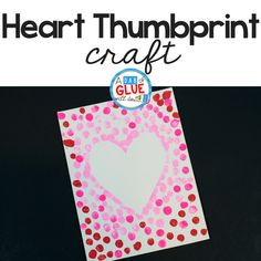 Spring and Easter Crafts are so much fun! ThisBunny Thumbprint Art is a great activity to do during springtime with your students!