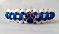 Custom Handmade Kentucky Team Paracord Bracelet Made with an Officially Licensed University of Kentucky Charm-PREMADE- Size 6 inches Paracord Knots, Paracord Bracelets, Locket Charms, Lockets, Charm Braclets, Go Big Blue, Kentucky Basketball, My Old Kentucky Home, Paracord Projects