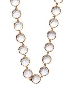 Irene Neuwirth Rose de France amethyst & rose-gold necklace