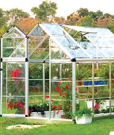 Snap N Grow Greenhouse 6 x 8, Home Gardening Supplies at Burpee.com