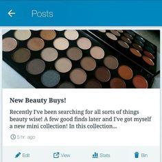 New blog post 'New beauty buys' Is now love!! https://pearlyapple.wordpress.com ▫ ▫ ▫ ▫ #fashion #fashionista #fashionblogger #fashionblog #fashioninsta #fashiondaily #fblogger #ootd #outfitoftheday #outfitinspiration #outfitpost #like #beautyblogger #beautycare #love #glamorous #cute #model #modelling #instabeauty #beautyblog #linkinbio #beautytips #instamakeup #makeupaddict #haul #selfie #flatlay #beauty #photography http://tipsrazzi.com/ipost/1500302644601152021/?code=BTSJU5rB-IV