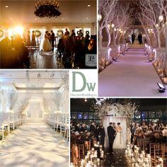 Зимняя свадебная церемония | DiscoverWedding.ru