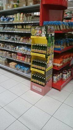 Omi's Apfelstrudel Display Retail, Display, Apple Strudel, Floor Space, Billboard, Sleeve, Retail Merchandising