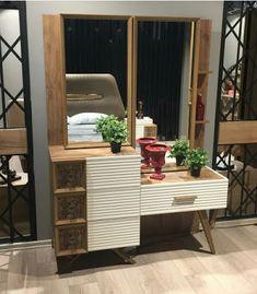 Vintage Dressing Table Design Ideas For Room - Wardrobe Design Bedroom, Bedroom Bed Design, Bedroom Furniture Design, Bedroom Decor, Modern Dressing Table Designs, Bedroom Dressing Table, Cupboard Design, Decoration, Interior Design