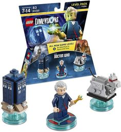Warner Bros Lego Dimensions Dr Who Level Pack - Dr. Who Level Pack Edition Lego Doctor Who, Doctor Who Cast, 12th Doctor, Gandalf, Tardis, Xbox 360, Playstation, Lego Dimensions, Lego Games