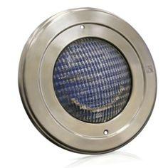 B039PLUXE Светильник для бассейна с цветнымисветодиодами, накладка нерж., под пвх пленку IML Испания