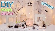 10 diy winter room decor ideas - YouTube