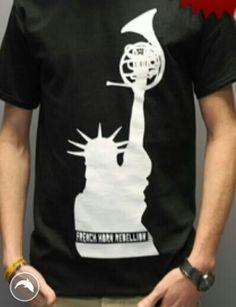 French Horn Revolution t-shirt