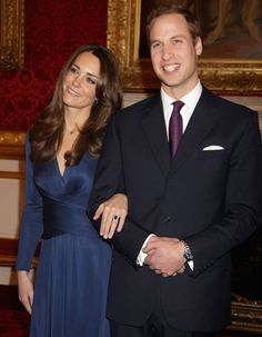 William proposed to Kate with a 12-carat oval blue Ceylon sapphire ring, the same one worn by his late mother Princess Diana.