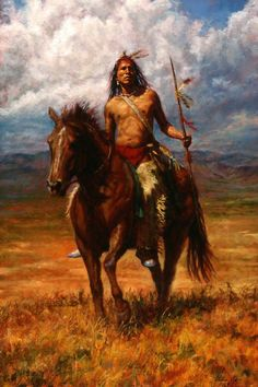 This is definitely one of the best native American painting and art illustrations you can find.It is often believed that the ancient Native Americans c Native American Warrior, Native American Beauty, American Indian Art, Native American History, American Indians, Seneca Indians, American Crow, Crow Indians, Cherokee Indians