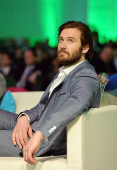 Clive Standen in Inside the 2014 A+E Networks Upfront