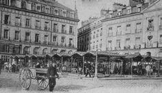 Nantes place du Bouffay-Le marché