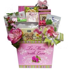 Art of Appreciation Gift Baskets   To Mom with Love Tea and Cookie Basket - http://teacoffeestore.com/art-of-appreciation-gift-baskets-to-mom-with-love-tea-and-cookie-basket/