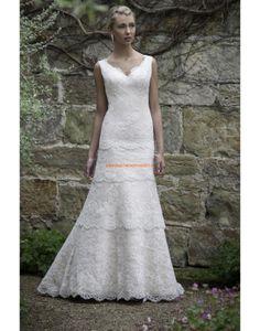 Augusta Jones 2013 Aparte Elegante Hochzeitskleider aus Spitze