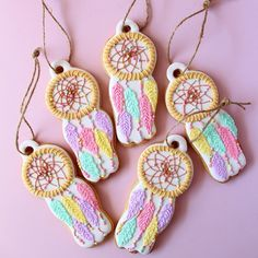 dream catcher cookies