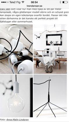 Upphängning lampa