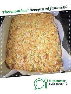 Rebarborová buchta se třtinovou drobenkou od majule. A Thermomix <sup>®</sup> recept z kategorie Dezerty a sladkosti z www.svetreceptu.cz, Thermomix <sup>®</sup> skupina.