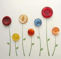 Κουμπιά Λουλούδια