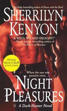 "Sherrilyn Kenyons ""Dark hunter"" series! My first ever paranormal romance reads and i fell in love with them straight away :)"