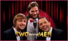 Two and a Half Men with Ashton Kutcher