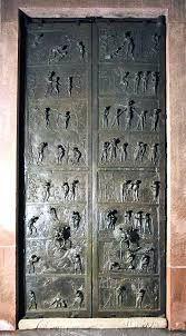 Risultati immagini per porta bronzea cattedrale hildesheim