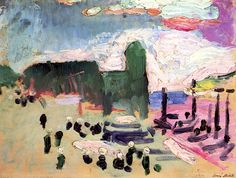 Collioure, 1905, by Henri Matisse (French, 1869–1954).