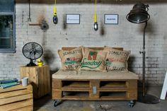Paletowe siedzisko (proj. Fabryka Palet), do kupienia w DecoBazaar.com