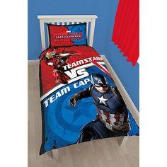 Marvel Multicoloured 'Captain America Civil War' bedding set | Debenhams